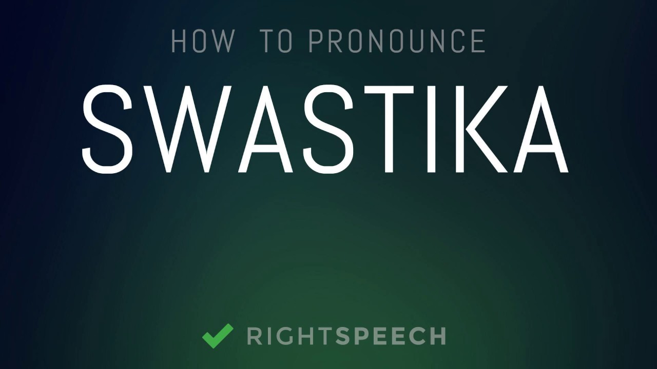 swastika pronounce
