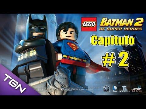 Lego Batman 2 DC Super Heroes  - Capitulo 2 - HD 720p