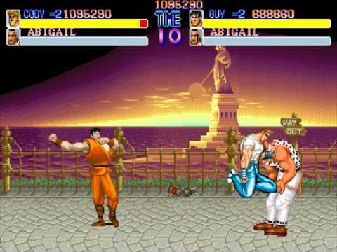 Final Fight (Arcade) - (2 players / 2 coins - Cody + Guy) Full game + comentarios
