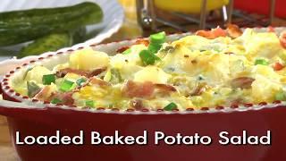 Loaded Baked Potato Salad Video