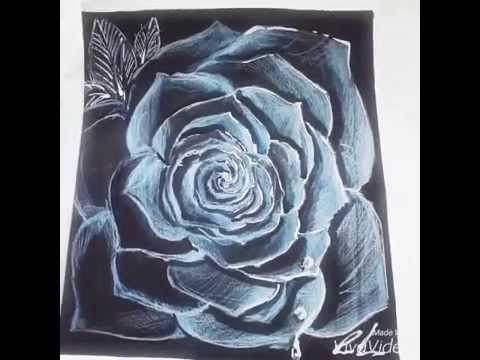 Célèbre Come disegnare una rosa - YouTube WA44