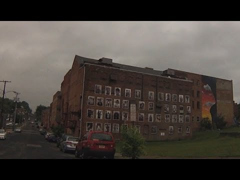 Newburgh, NY - Drive through City Streets and Historic District