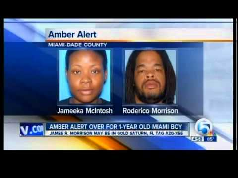 Amber Alert Over For 1 Year Old Miami Boy Youtube