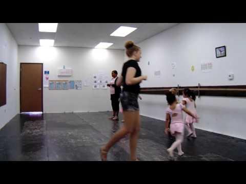 North Las Vegas Ballet Theater Preballet Rehearsing Mice for Cinderella