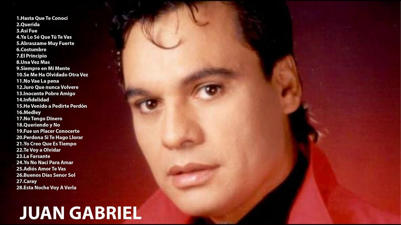 Juan Gabriel Canciones Viejitas Romanticas Juan Gabriel Exitos Mix Youtube