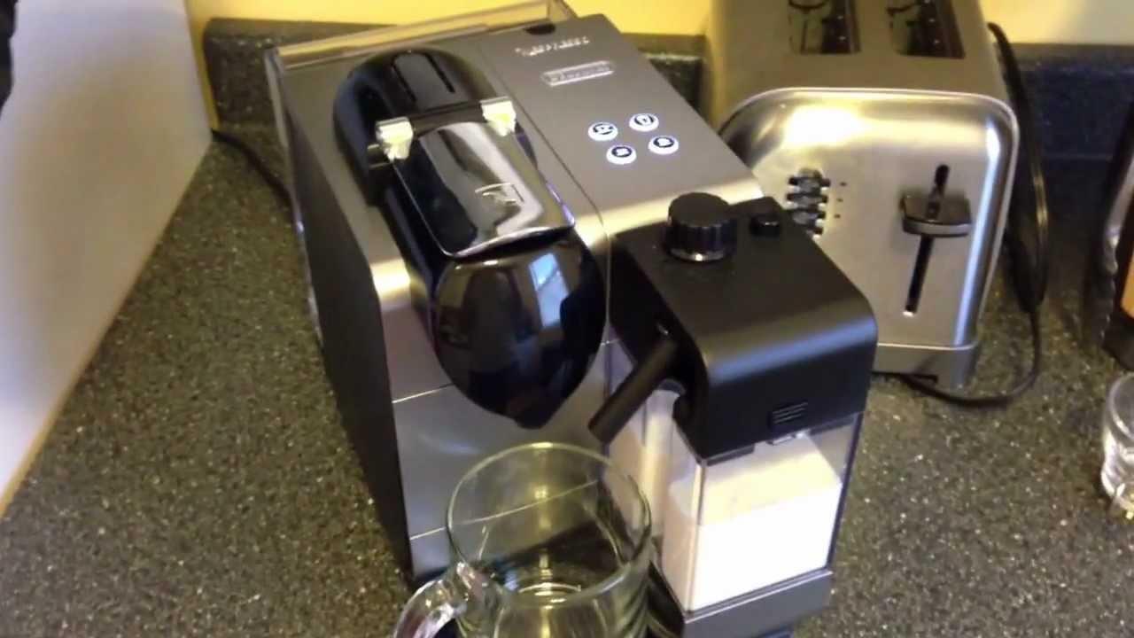 delonghi nespresso lattissima plus latte cappuccino maker overview youtube - Nespresso Delonghi