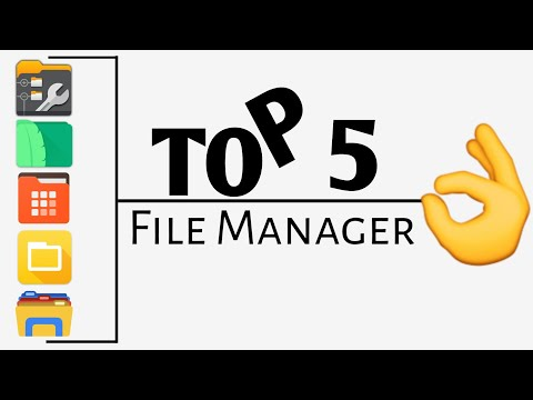 Top 5 Best File Manager For Android 2018 | Best File Explorer For Android 2018 - Must Try!