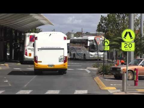 Buses in Bendigo Victoria Australia -  Bendigo Transit April 2016