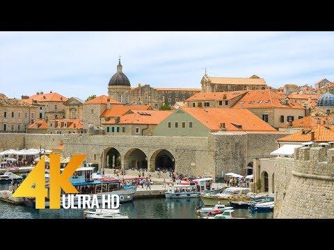4K Dubrovnik, Croatia - Cities Of The World | Urban Life Virtual Tour