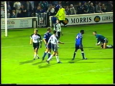 1995-96 - Shrewsbury Town 2 Derby County 4 - League Cup