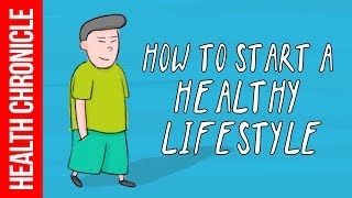 Animation by health chronicle explaining how you can start a healthy lifestyle. releases educational video week. subscribe here -...