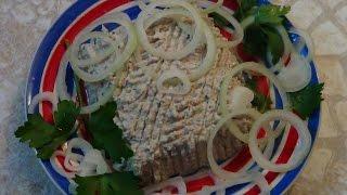 Паштет из соленой рыбы, невероятный вкус!