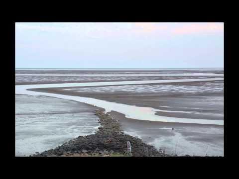 Nordsee Wattenmeer Ebbe/Flut Zeitraffer