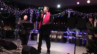 """Lighting Of The Trees Ceremony - The Max Pack   Max Manzanares """"Santa Claus Is Coming To Town"""""""