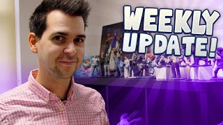 Weekly Update - 13th October - Comicon, Christmas Jumper and Mini-Yogscast