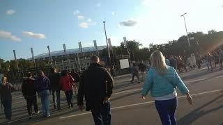 . Дорога на концерт Rammstein от метро Спортивная. Лужники-Москва-20190729 185846