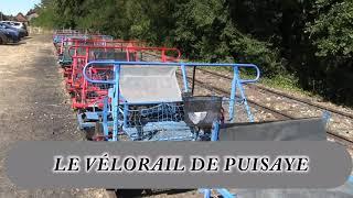 LE VÉLORAIL DE PUISAYE