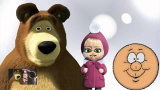 Маша и медведь. Смех без причины не признак дурачины. ♗ 2013