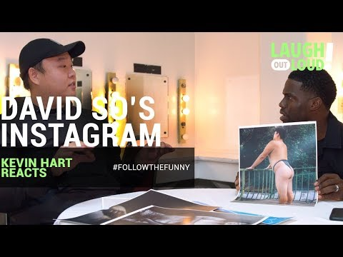 Kevin Hart Reacts to David So's Instagram | LOL Network
