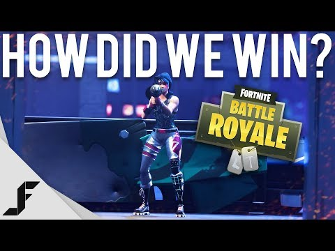 HOW DID WE WIN - Fortnite: Battle Royale