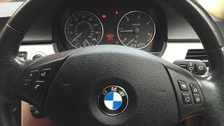 BMW 3 серии E90 сброс ошибок с дисплея, 3 series,E90 resets error