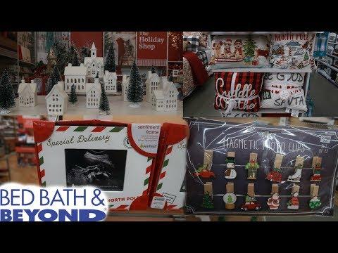 BED BATH & BEYOND * CHRISTMAS 2019 / COME WITH ME
