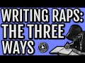How FAMOUS Rappers Write Their Rhymes and How YOU Can Too - HOW TO RAP FOR BEGINNERS