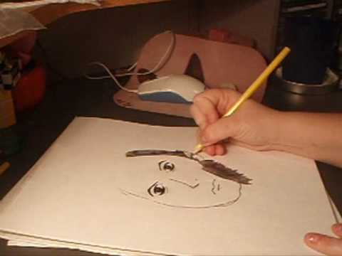 "Dark Shadows: ""Quentin Collins"" Sketch"
