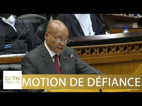 Vote de bulletin secret pour la motion de défiance contre Zuma
