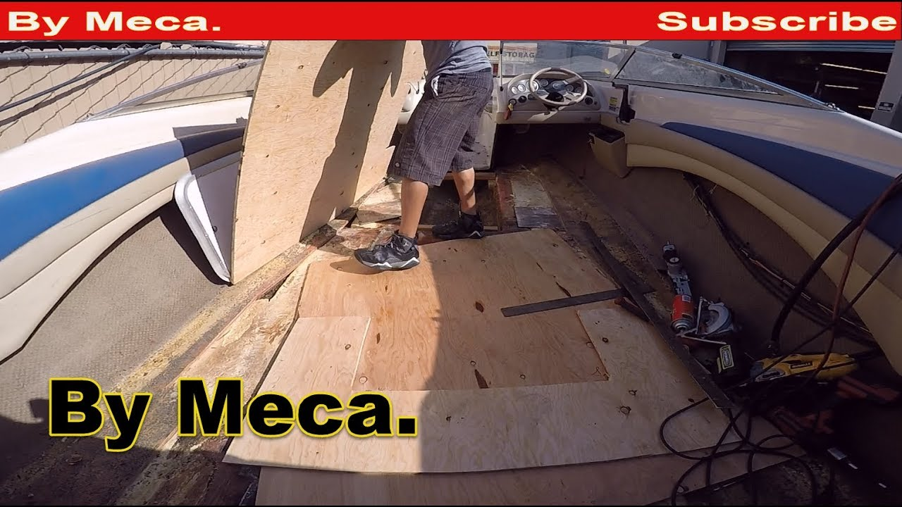 How To Fix A Rotten Boat Floor Repair Sun Deck