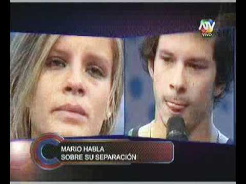 """Alejandra Baigorria le grita a Mario Hart en Combate: """"No quiero verte ..."""