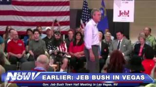 FNN: Gov. Jeb Bush Town Hall Meeting in Las Vegas, NV