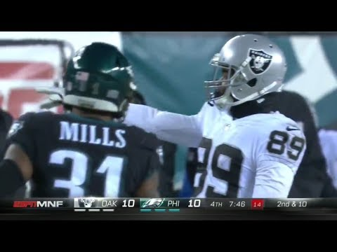Amari Cooper & Michael Crabtree vs Ronald Darby & Jalen Mills (2017) | WR vs CB Highlights
