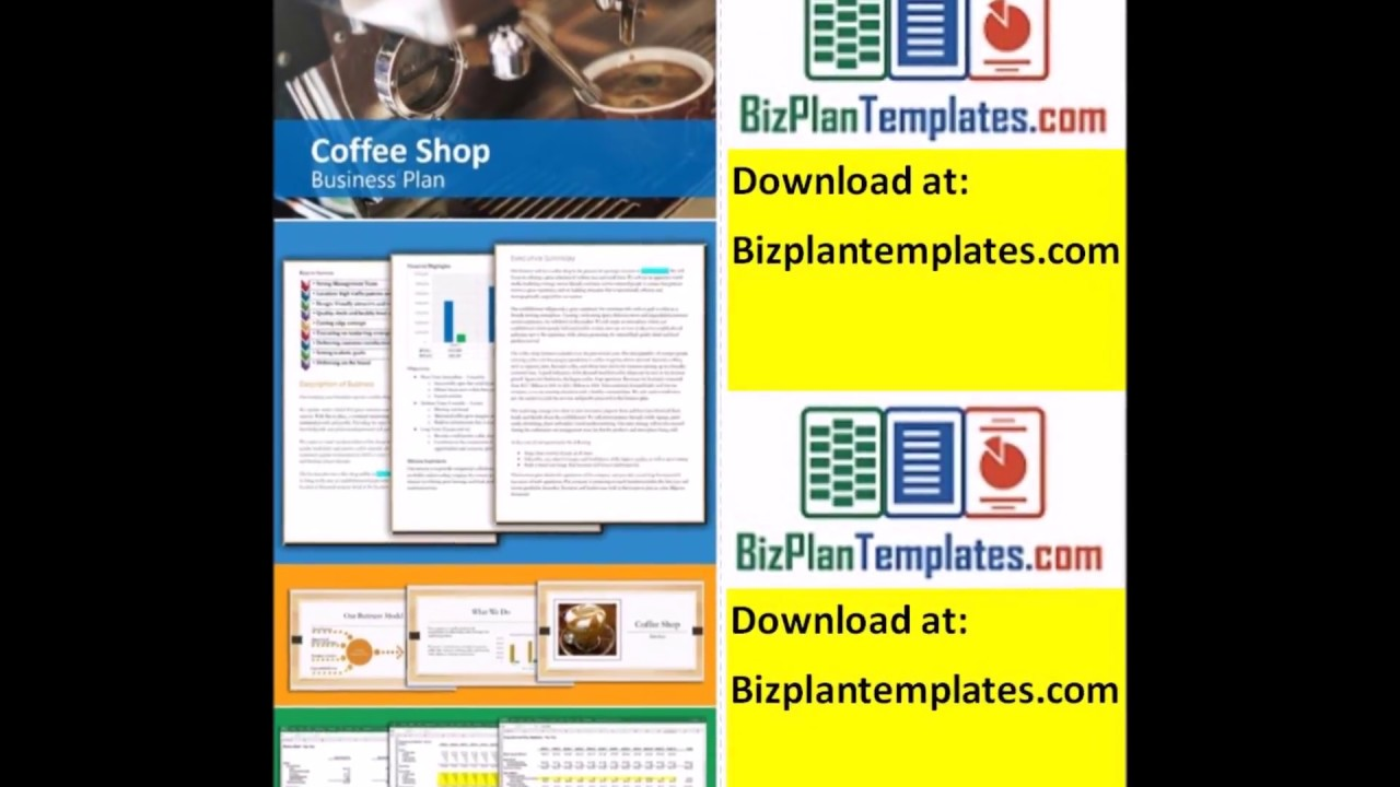 coffee shop executive summary example business plan youtube