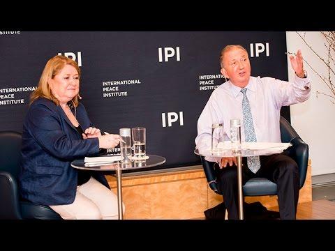 UN Secretary-General Candidate Susana Malcorra Speaks at IPI