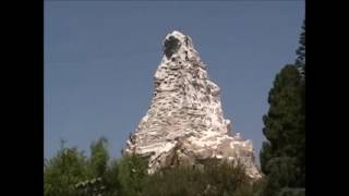 Mickey Mouse Climbs the Matterhorn at Disneyland