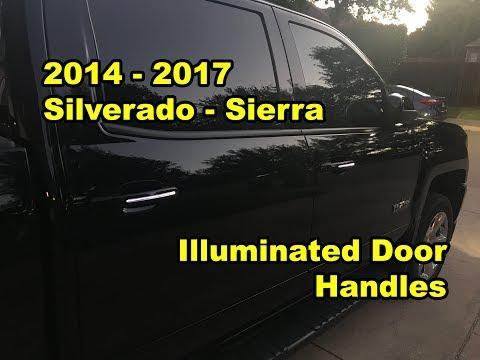 2014 - 2017: Silverado / Sierra - Illuminated Door Handles