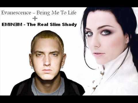 Evanescence - Bring Me To Life + EMINEM - The Real Slim Shady (A DJ LP Mash-Up)