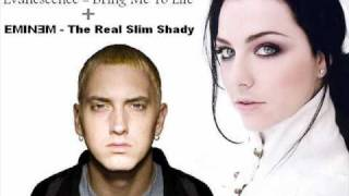 Evanescence - Bring Me To Life + EMINEM - The Real Slim Shady (A DJ LP Mash-Up)