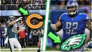 Trey Burton Signs for Bears + Eagles Release Brent Celek, Sign Haloti Ngata | My Reaction