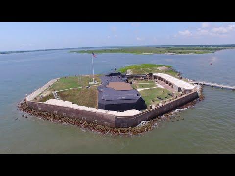 Fort Sumter Flyover