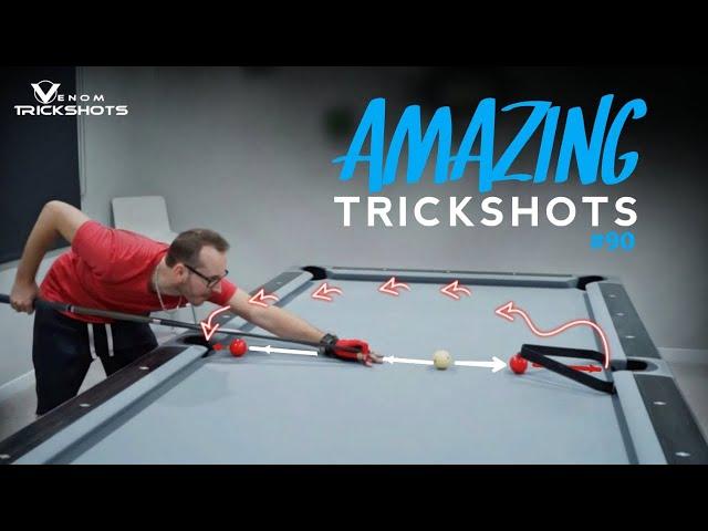 AMAZING Pool Trick Shots #90 - Venom Trickshots