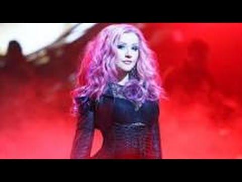 Christina Aguilera 'Anywhere But Here' karaoke version
