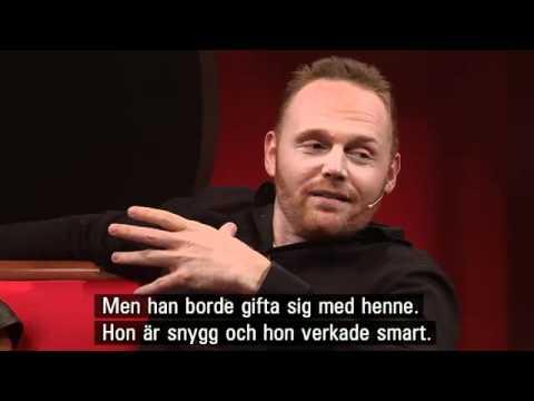 Bill Burr on Swedish Talk