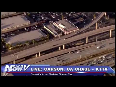 FNN: Carson, CA Car Chase, Fox 10 News at 6, Marco Rubio in New Hampshire, & Joe Biden on Wages