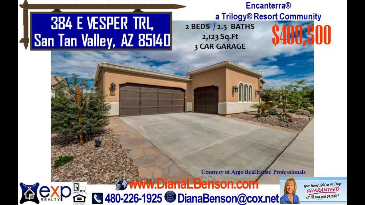 2 Beds 2 5 Baths 55 Plus Home For Sale In San Tan Valley Az