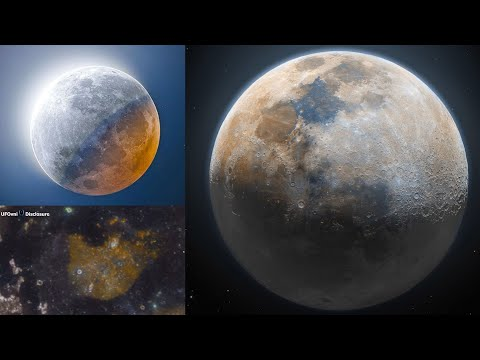Weird, There's Rust On The Moon (Telescope Video)