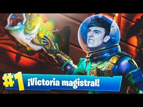 EPIC VICTORIA CON LA NUEVA SKIN LEGENDARIA *LEVIATÁN* en FORTNITE: Battle Royale!! - Agustin51