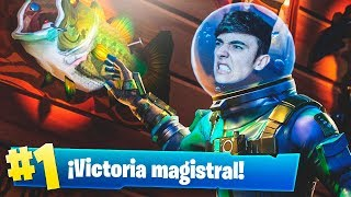 EPIC VICTORIA WITH THE NEW LEGENDARY SKIN *LEVIAN* in FORTNITE: Battle Royale!! - Agustin51