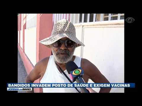 Bandidos invadem UBS e exigem vacinas contra febre amarela